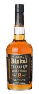 George Dickel 8 Tennesee Whisky 750ml