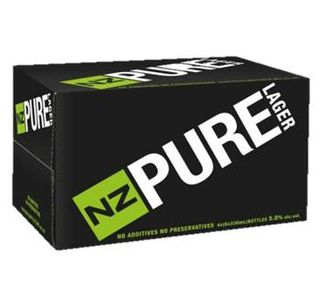 NZ Pure Lager 330ml-24