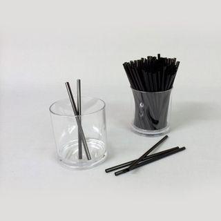 Black Small Cocktail Straws-5000