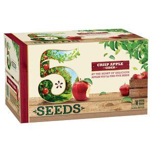 5 Seeds Crisp Apple Cider 345ml-24