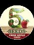 5 Seeds Crisp Apple Cider 50lt Keg
