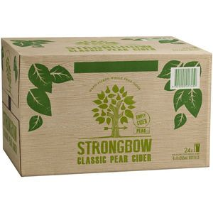 Strongbow Pear Cider 355ml-24