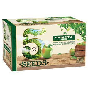 5 Seeds Cloudy Apple Cider 345ml-24