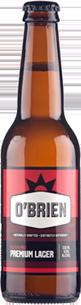 O'Brien Premium Lager 330ml-24