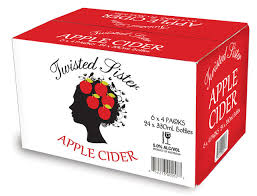 Twisted Sister Apple Cider 330ml-24