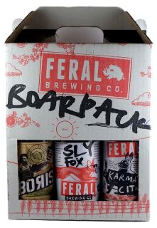 Feral Boar Mixed 330ml 6 Pack GIFT PACK