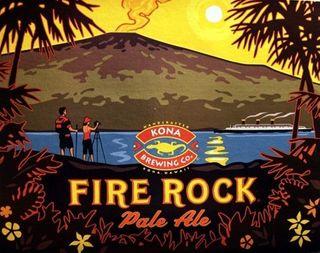 Kona Fire Rock Pale Ale Keg 58.5L
