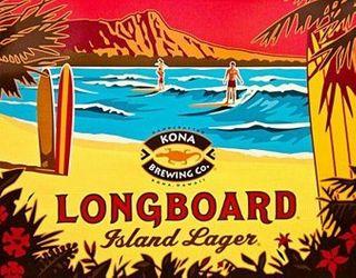 Kona Longboard Lager Keg 58.5L