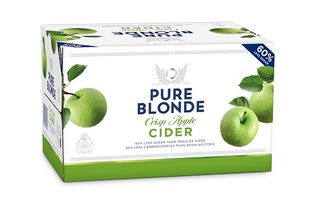 Pure Blonde Organic Cider 355ml-24
