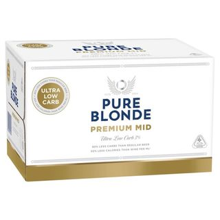 Pure Blonde Mid 355ml-24