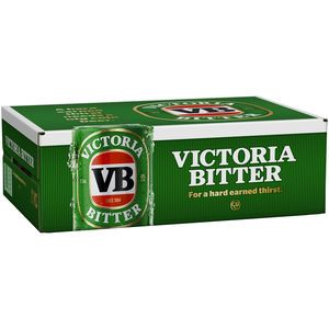 Vic Bitter Cans 4.9% 375ml-24