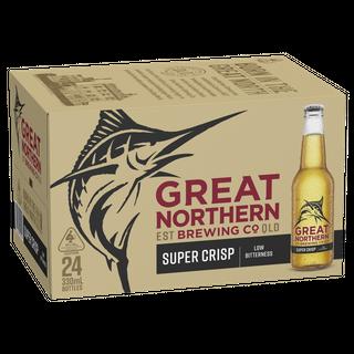 Great Northern Super Crisp Stub 330ml-24