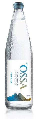 Mt Ossa Sparkling Water 750ml x12