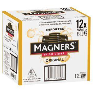Magners Irish Cider 568ml-12