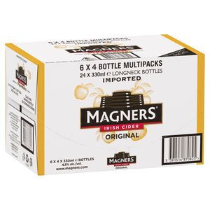 Magners Irish Cider 330ml-24