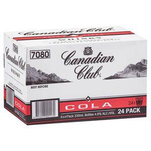 Canadian Club & Cola Stubb 330ml-24