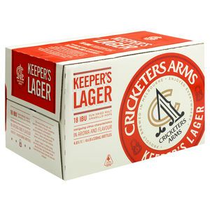 Cricketers Arms Keepers Lager 330ml-24