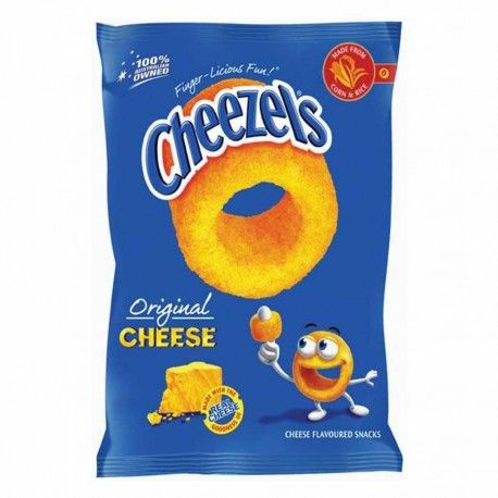 Cheezels Bag 90g x12