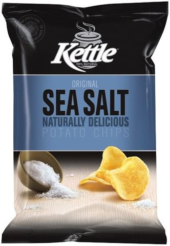Kettle Original Sea Salt 90g x12