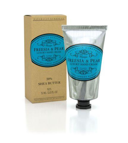 Naturally European Hand Cream 75ml Tube Freesia & Pear