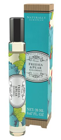 Naturally European Fragrance Rollerball 20ml Freesia & Pear