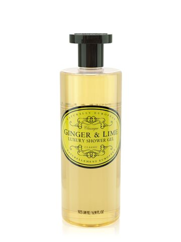 Nat Euro Shower Gel Ginger & Lime 500ml