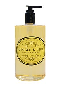 Naturally European Hand Wash Ginger & Lime  500ml