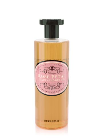 Naturally European Shower Gel Rose Petal  500ml
