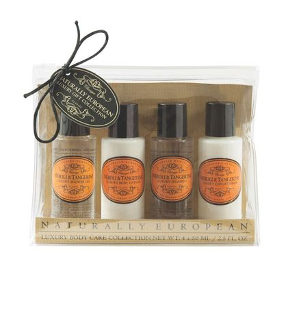 Nat Euro Travel Set Neroli & Tangerine 4 x 50ml