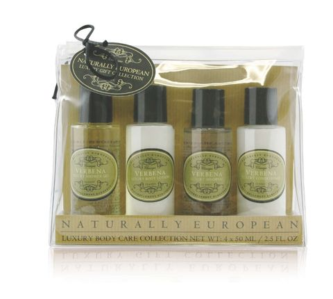 Nat Euro Travel Set Verbena 4 x 50ml