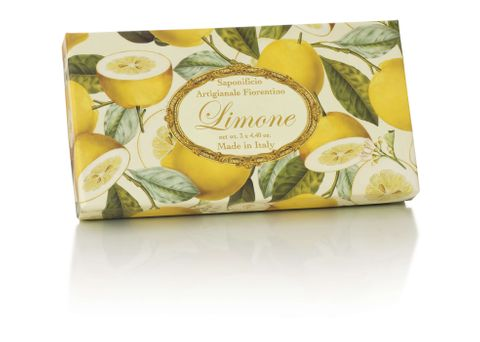 SAF Lemon Soap Set 3 x 125g