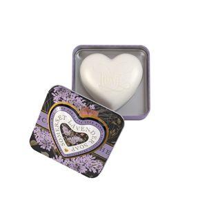 Heart Soap In Tin 150g Lavender