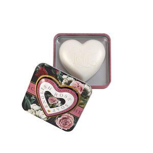 Heart Soap In Tin 150g English Rose