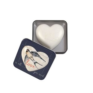 Heart Soap In Tin 150g Love