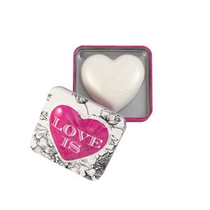 Heart Soap In Tin 150g Love Is