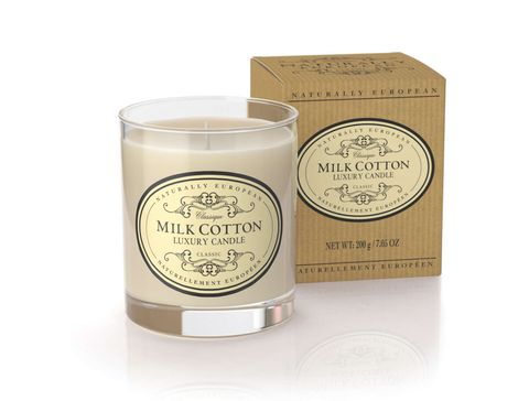 Nat Euro Candle Milk Cotton 200g