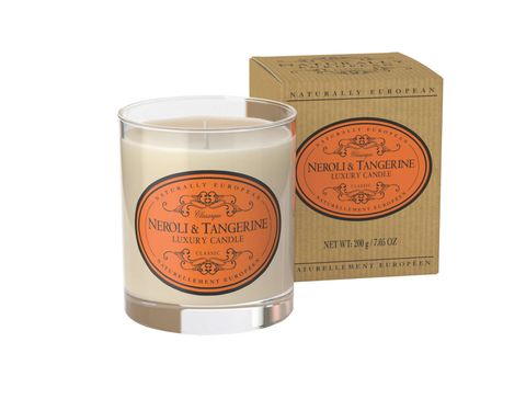 Naturally European Candle Neroli & Tangerine  200g