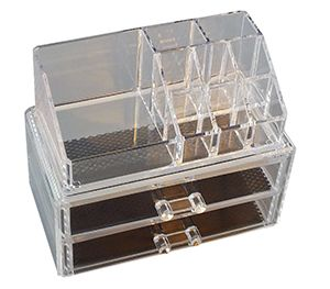 Cosmetic Organiser - 2 Drawer