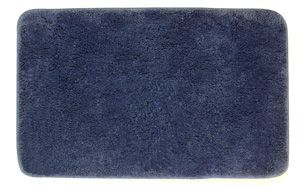 Microfibre Bath Mat Denim