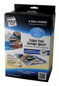 Space Bag Combo 6pk