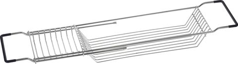 Chrome Bath Tub Rack