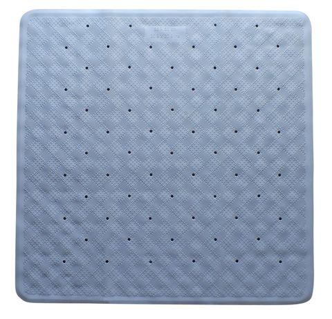 Rubber Shower Mat Blue