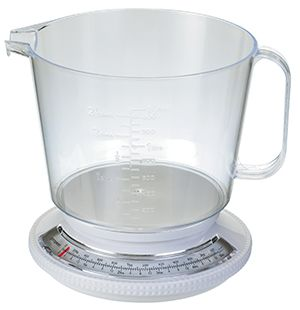 Propert Kitchen Scale With Jug White 2.2kg