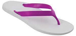 *Archline Balance White/Fuschia 36