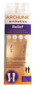 Archline Orthotics Insoles Relief 40