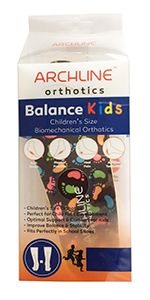 Archline Orthotics Insoles Kids 34