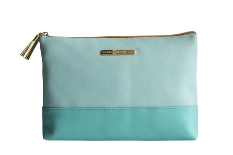 Two Tone Teal/Mint Holdall