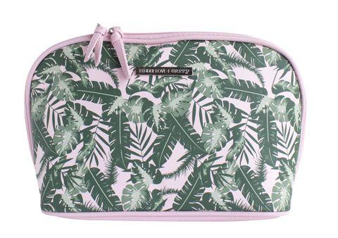 Pink Green Soft Tropics Zipover