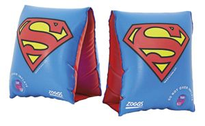 Superman Kids Armbands 2-6 Yrs