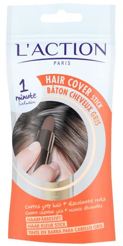 L'Action Hair Cover Stick Black